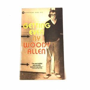 """Woody Allen """"Getting Even"""""""